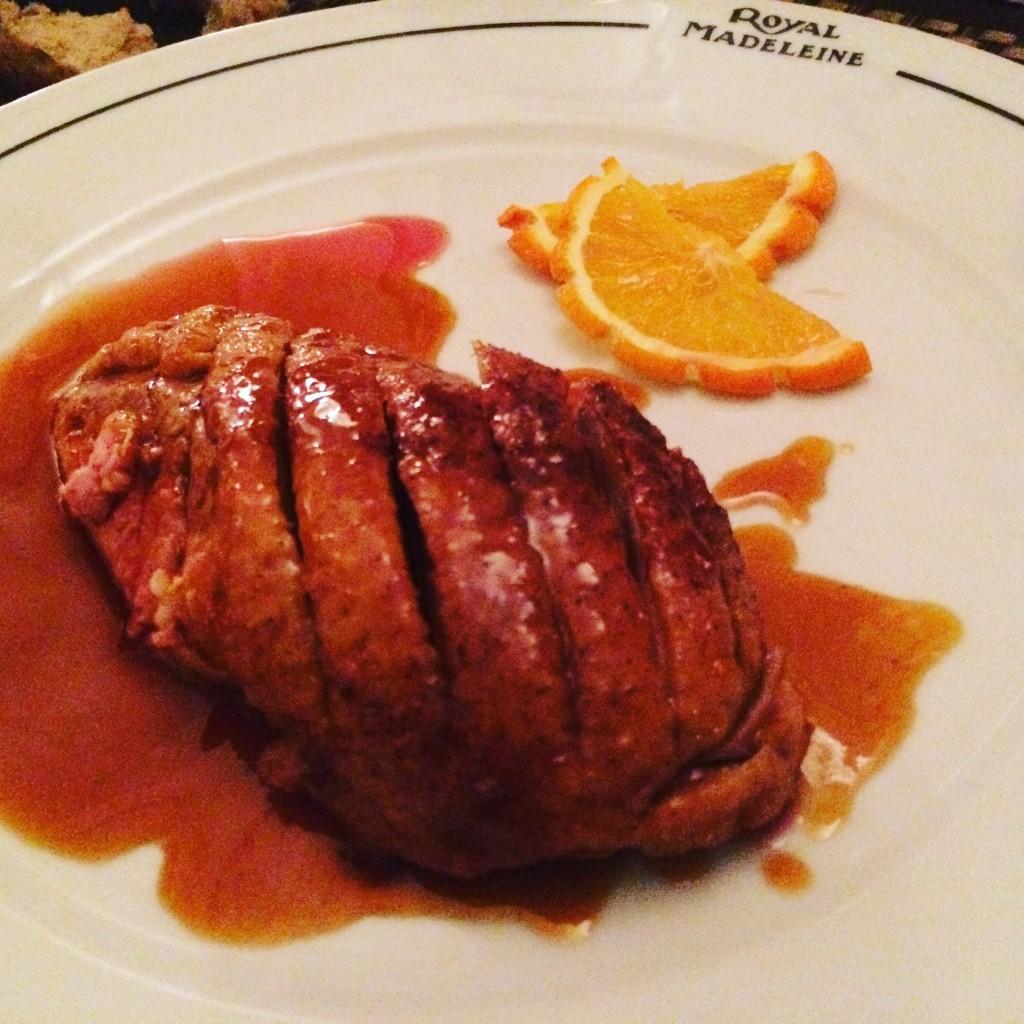 Canard à l'orange ©GP