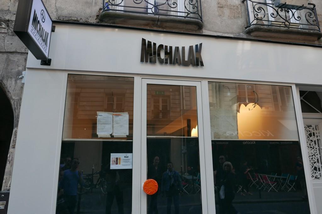 La boutique Michalak il y a une semaine © GP