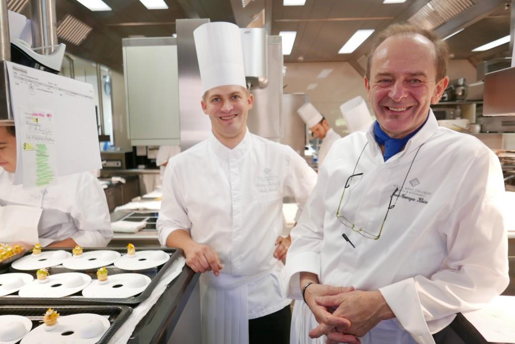 Jean-Georges Klein et son adjoint Jérôme Schilling à la Villa Lalique © GP