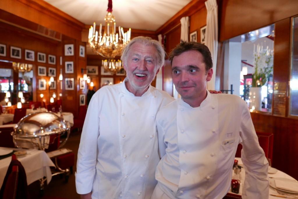 Pierre Gagnaire et Olivier Biles ©GP
