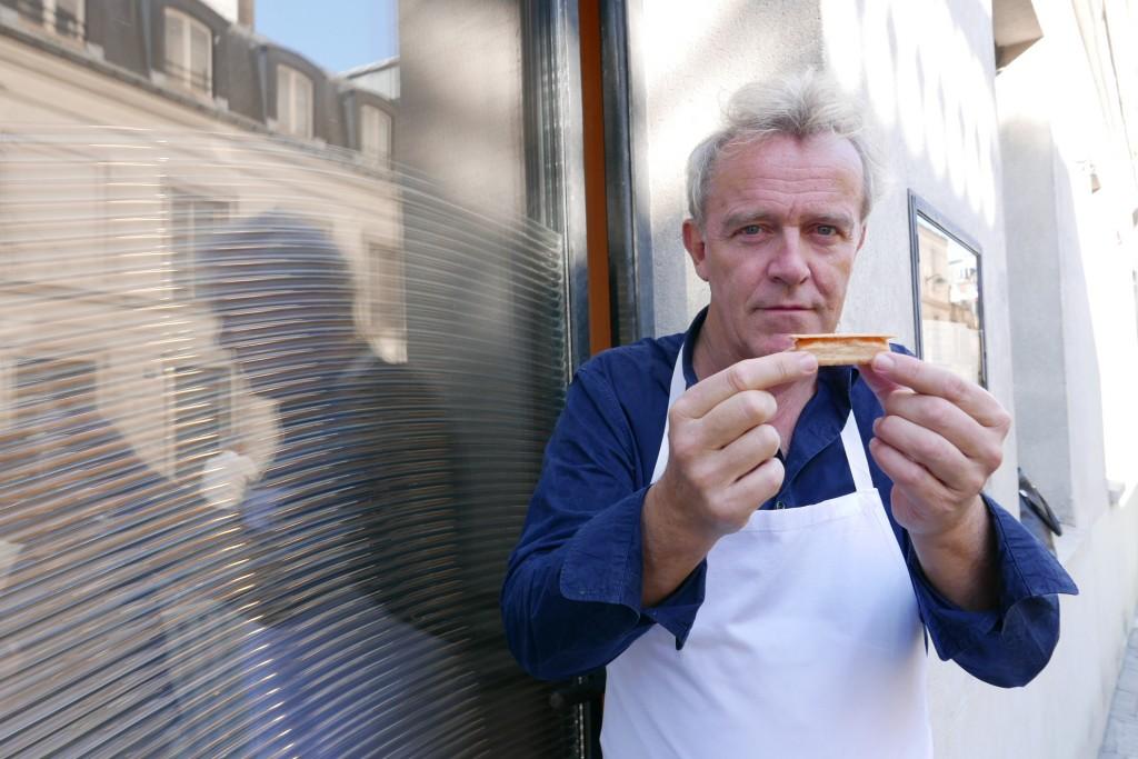 Alain Passard et l'allumette © GP