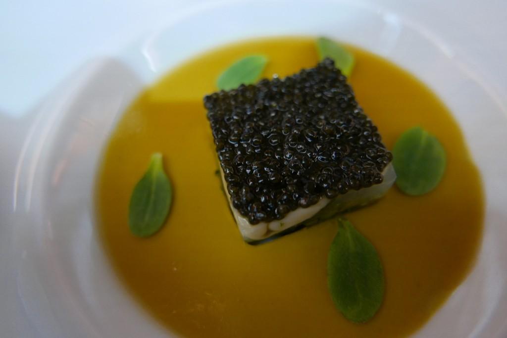 Tartare d'huître d'Arcachon au caviar © GP