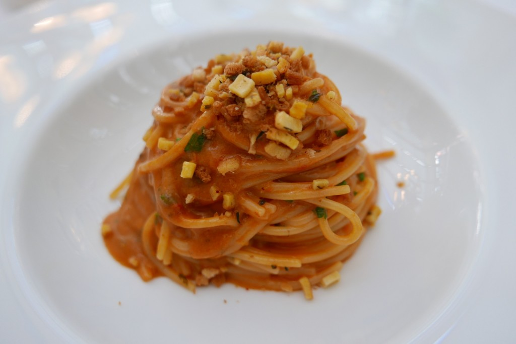 Spaghetti aux oursins © GP