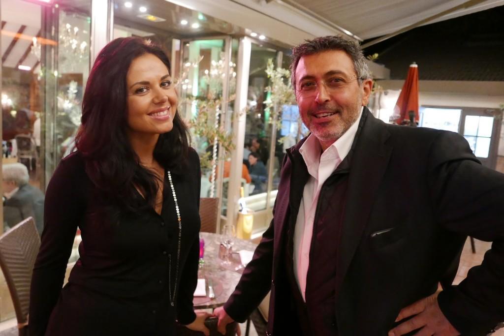 Claudia Puglia et son épouse © GP