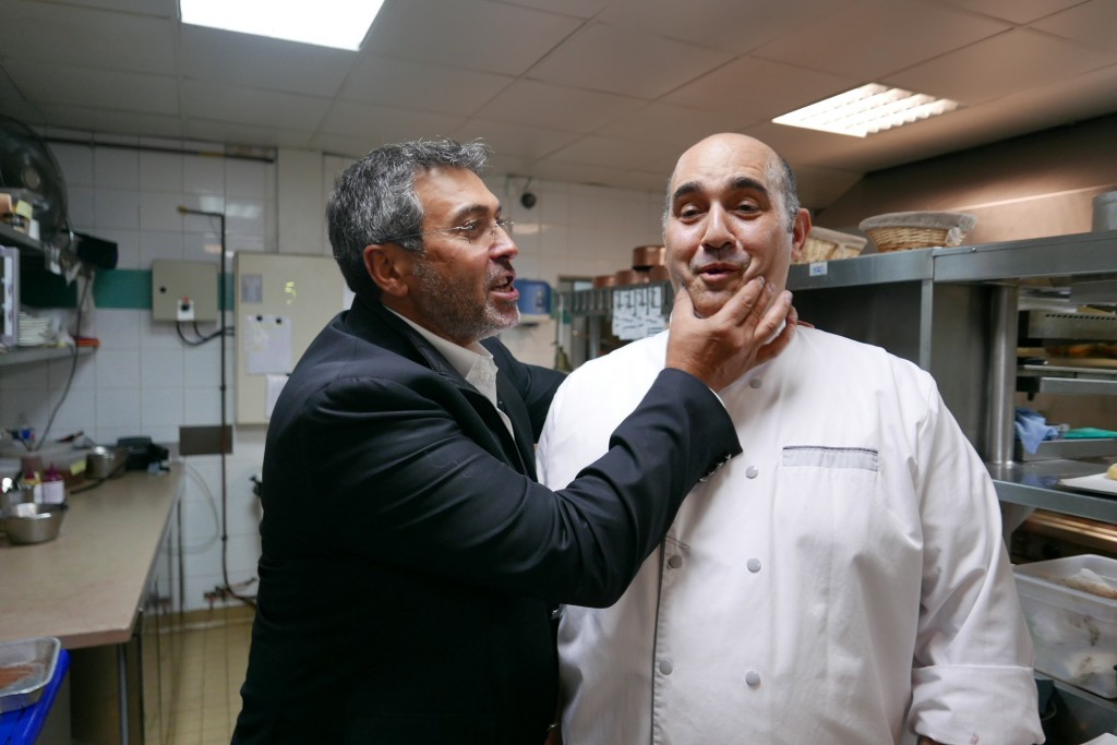 Claudio et son chef © GP