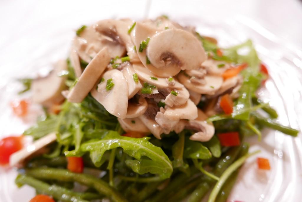 Salade de champignons © GP