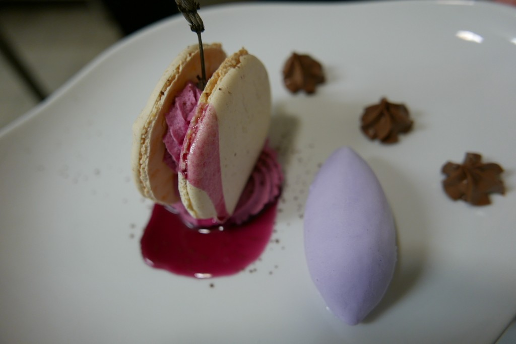Macaron tout violette © GP