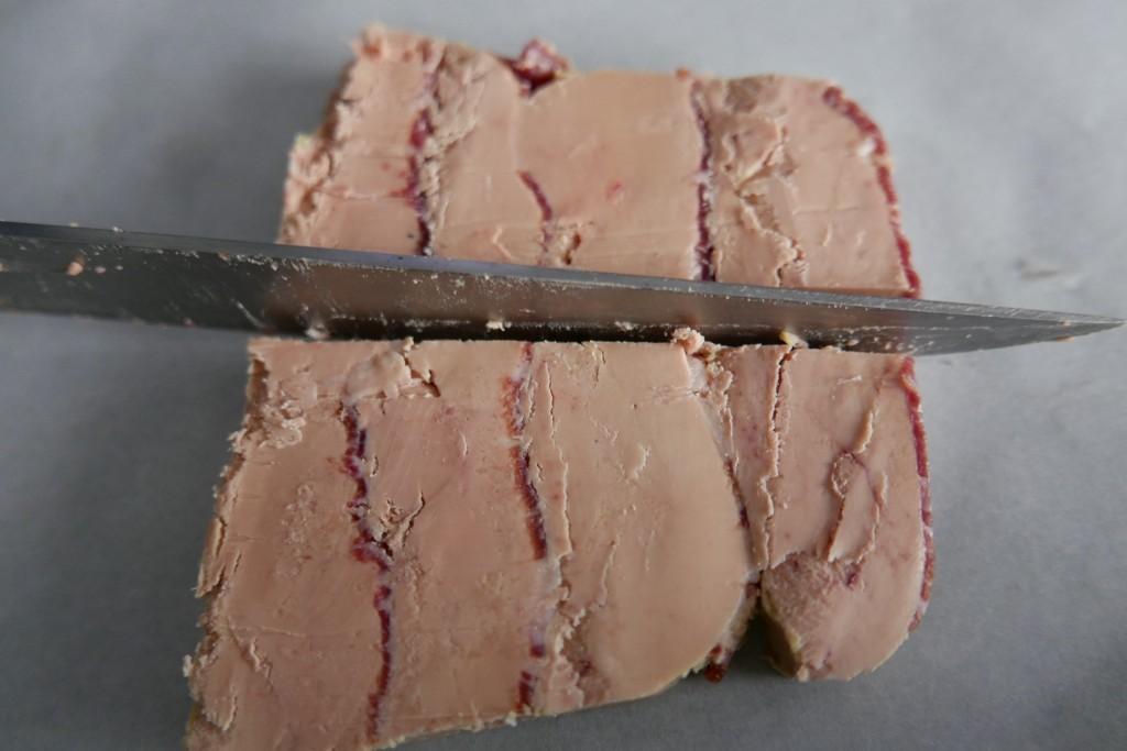 Foie gras de canard au jambon ibérico ©GP