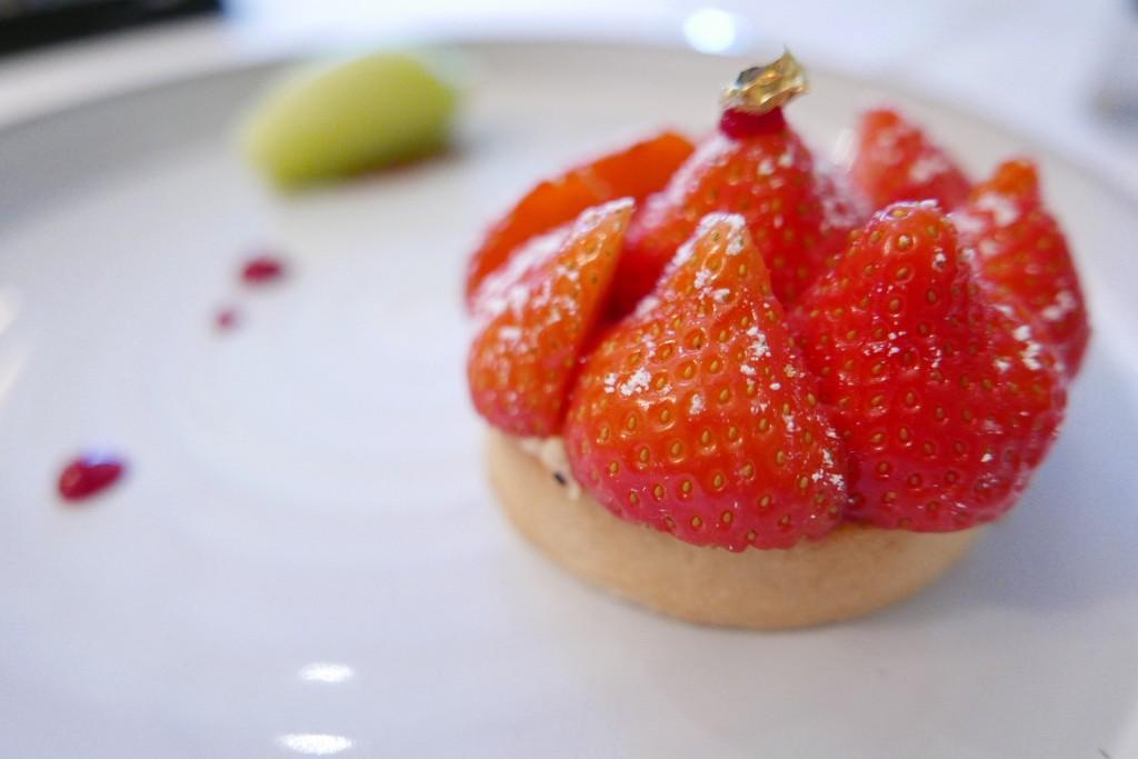 Tarte aux fraises © GP
