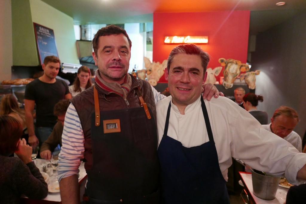 Fabien Tourailles et Stéphane Carrade © GP