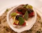 Tartare de boeuf, crème d'huître, caviar © GP