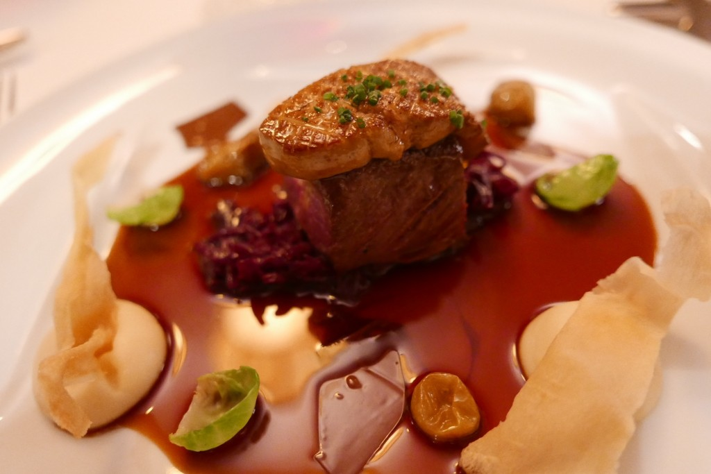 Chevreuil et foie gras © GP