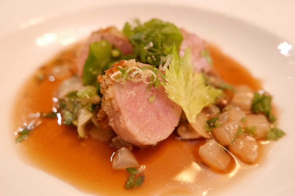 Filet de veau blonde d'Aquitaine et jarret © GP