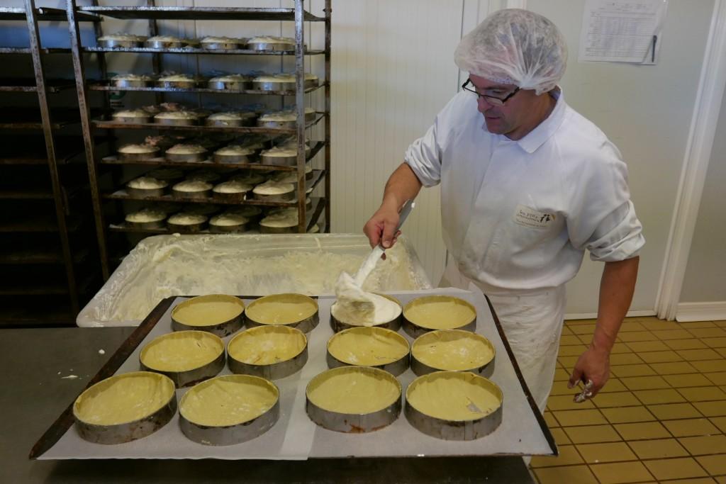 """La fabrication de la """"fromagère"""" © GP"""