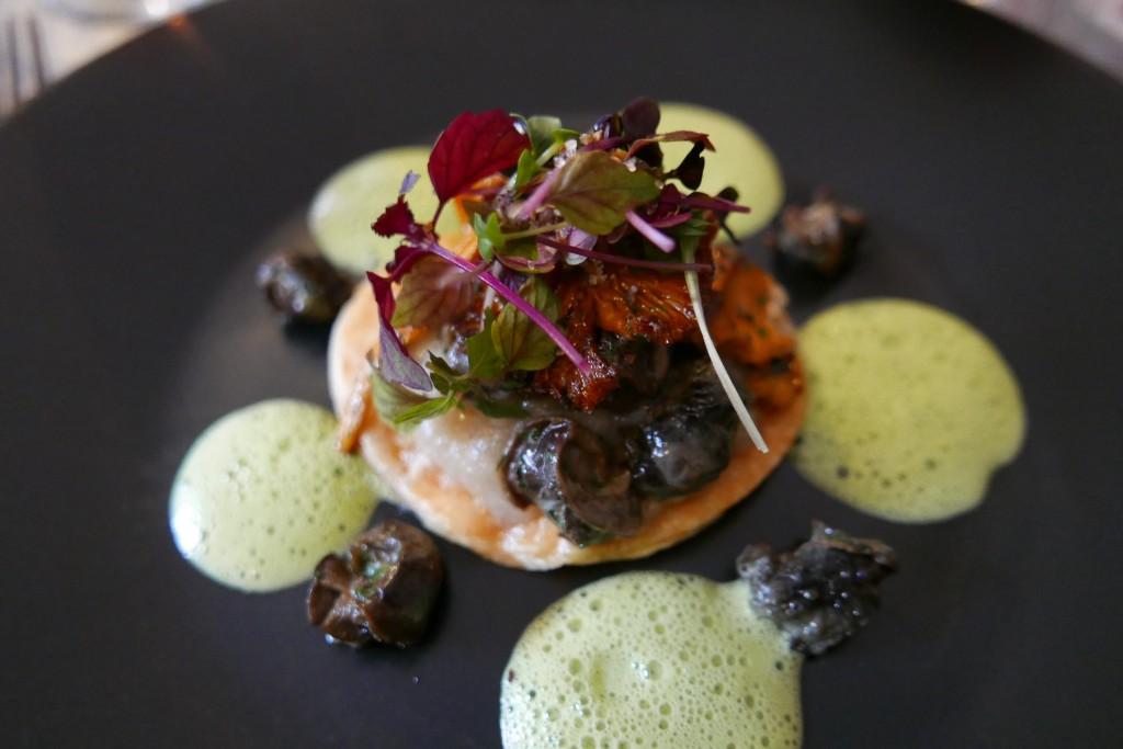 Tarte aux escargots © GP