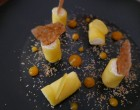 Maki de mangue chocolat blanc et gingembre © GP