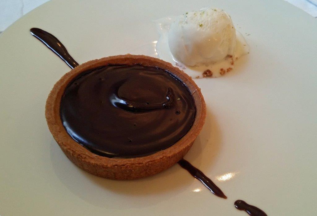 Tarte ganache chocolat ©AA
