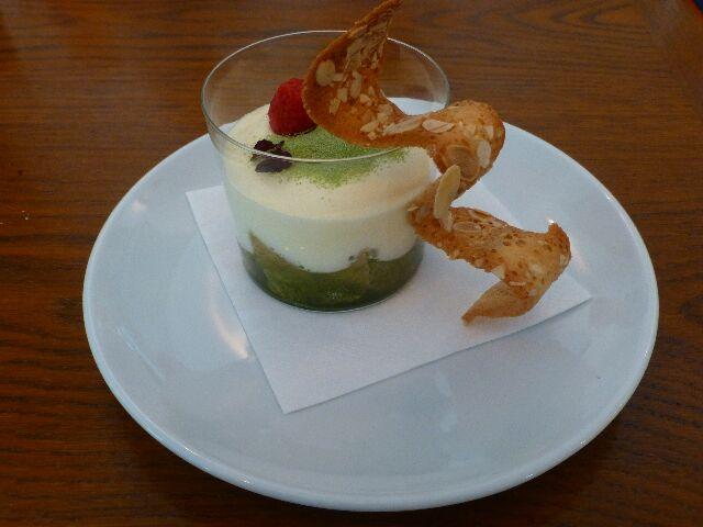 Tiramisu au thé vert ©DC
