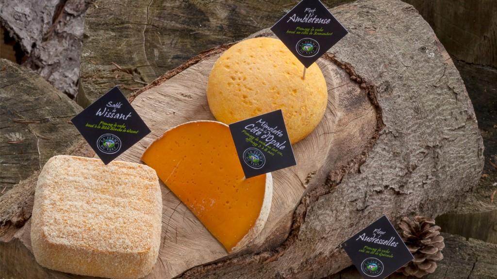 Quelques fromages © DR