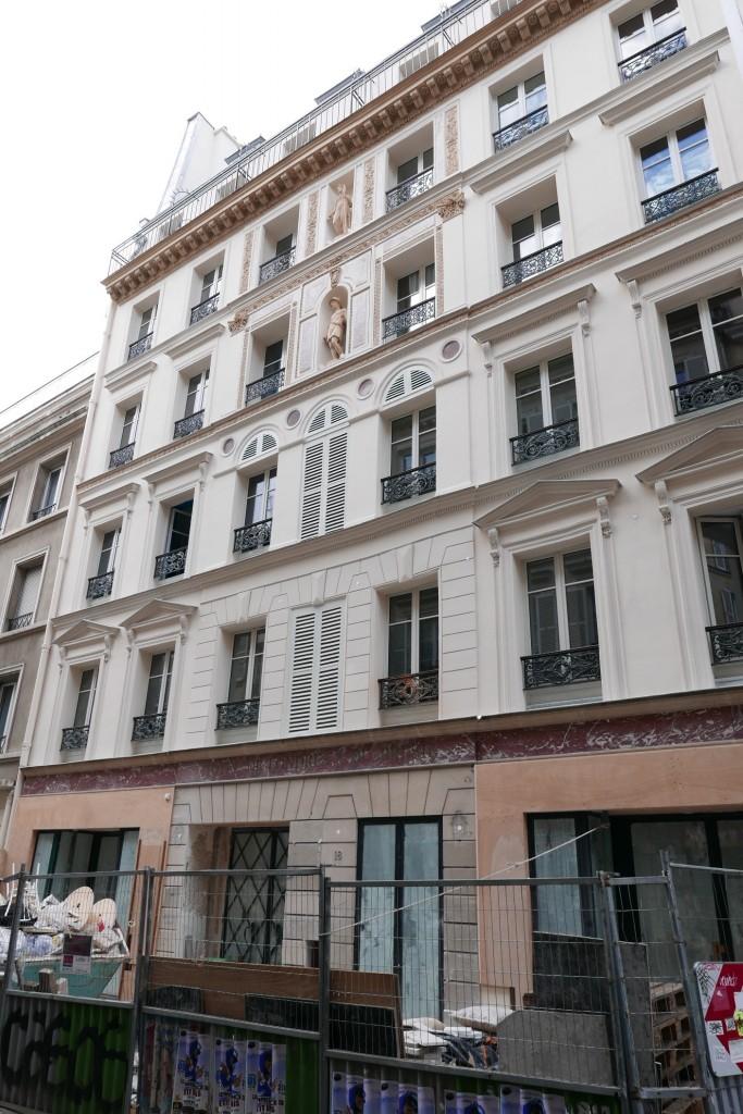 Hotel Amour Fidelité le 27 octobre © GP