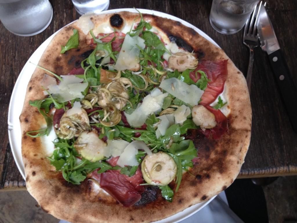 Pizza Bresaola © GP