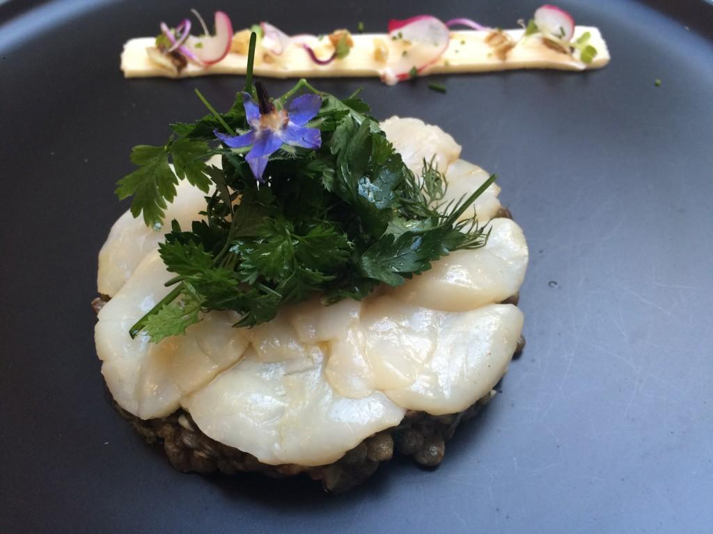 Lentilles marinées et lentilles persillées © GP