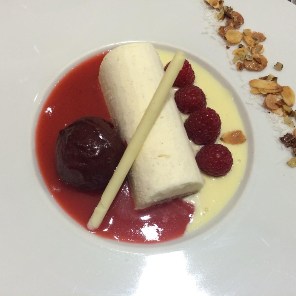 Entremet glacé à la vanille © GP