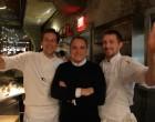 Jean-Georges avec les chefs de l'ABC Cocina à NY © GP