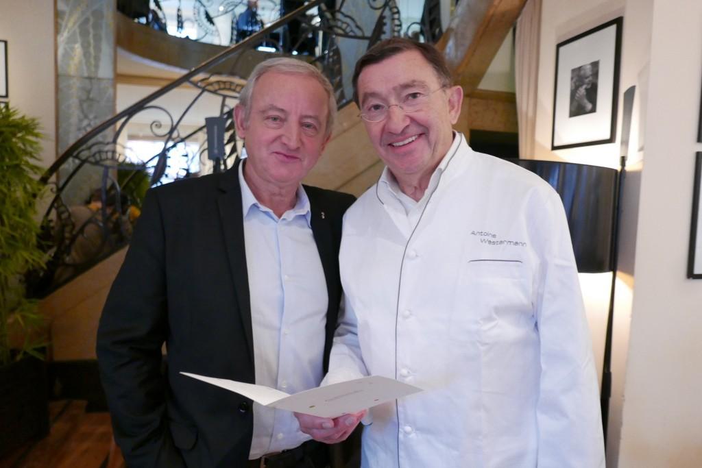 Yann Queffelec et Antoine Westermann © GP