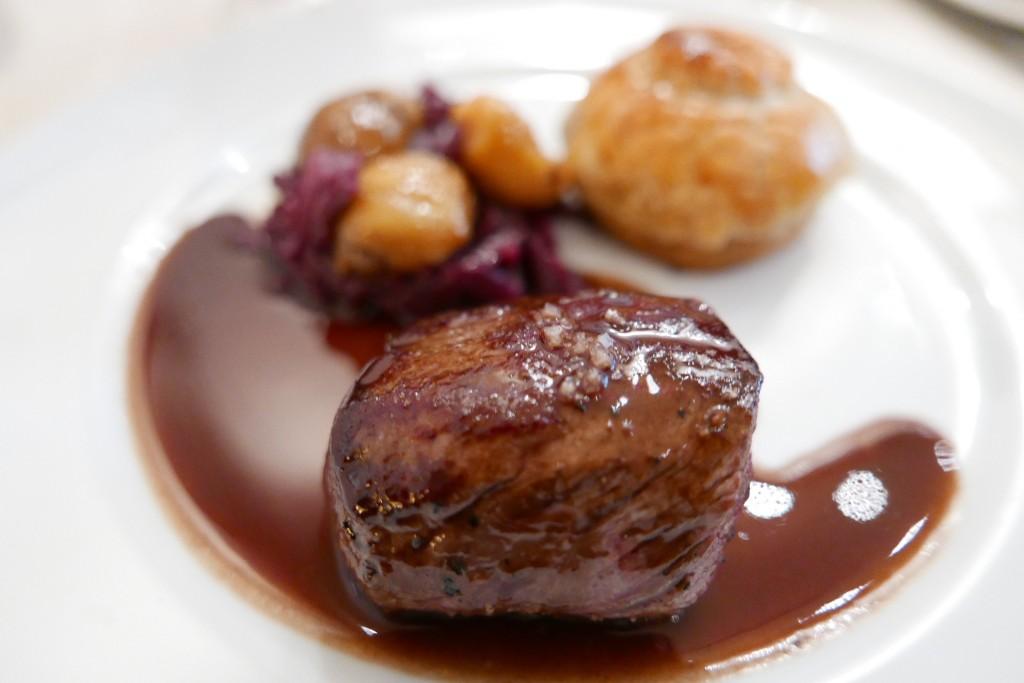 Chevreuil et tourte de foie au gras GP