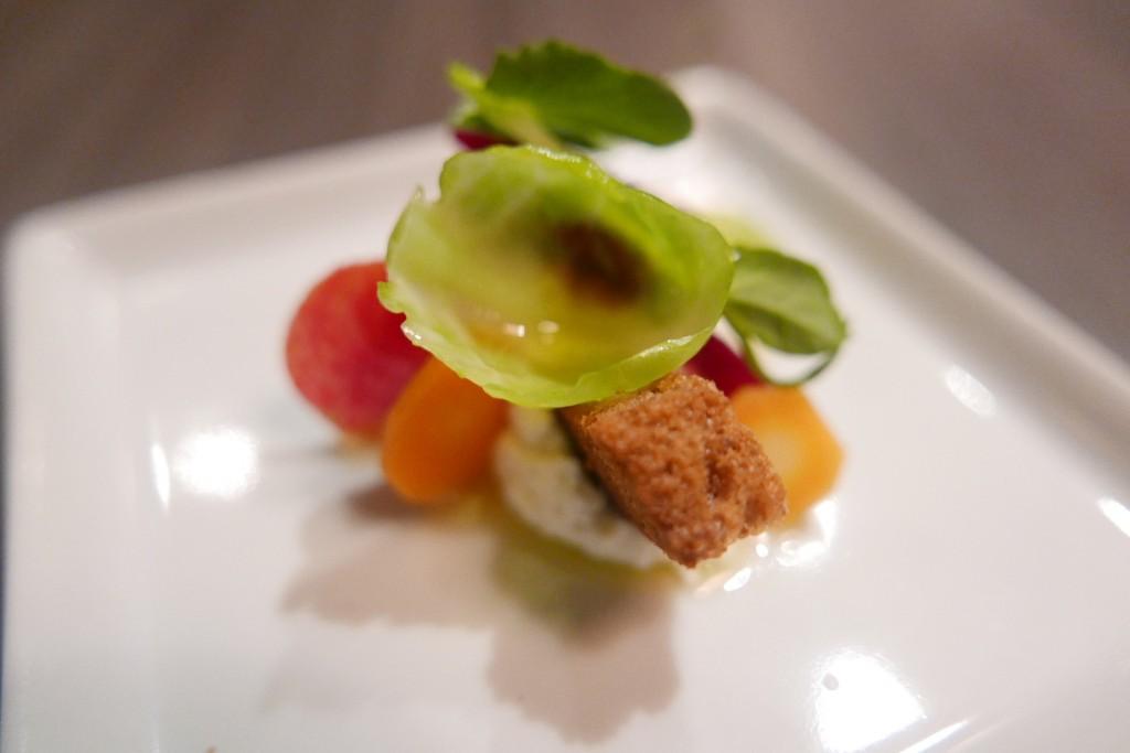 Salade de ricotta maison © GP