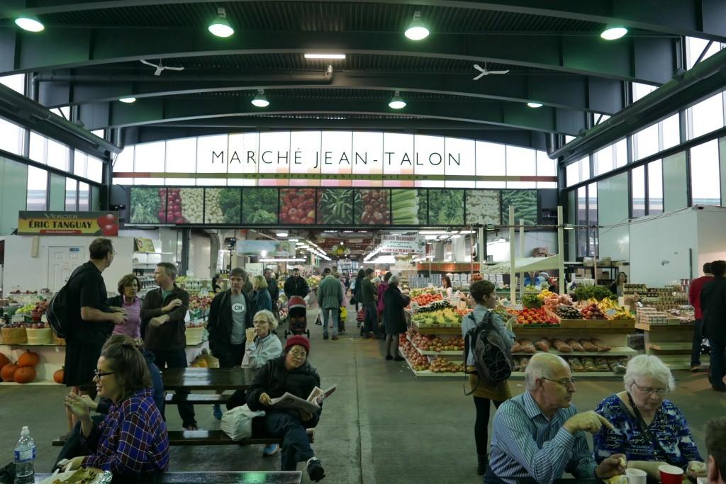 Au marché Jean Talon © GP