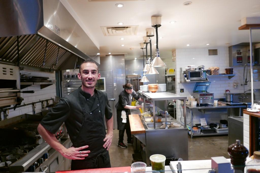 Joaquim Henni en cuisine © GP