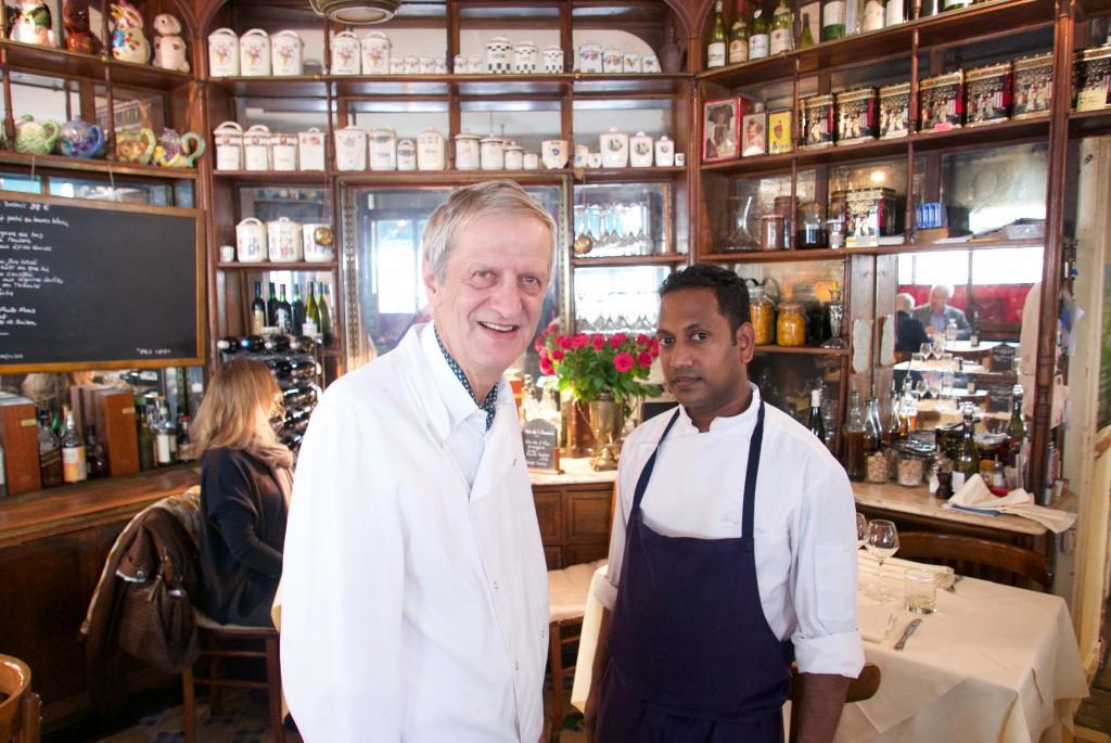 Jacky et son chef © GP