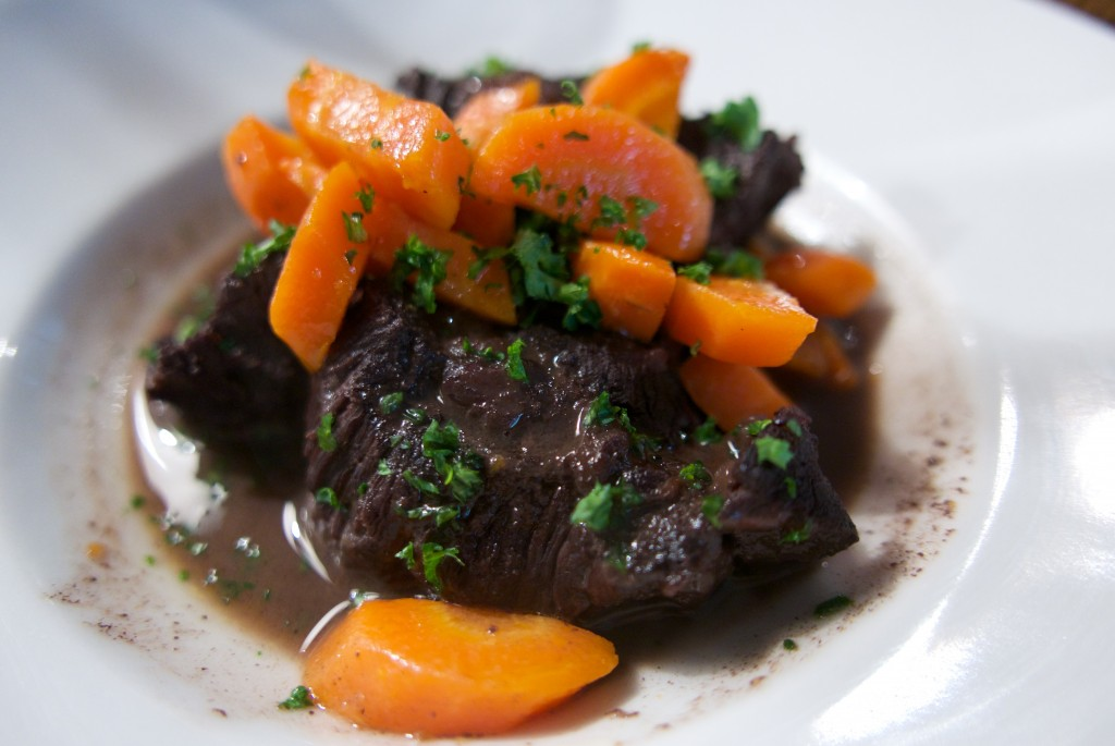 Joue de boeuf aux carottes ©GP