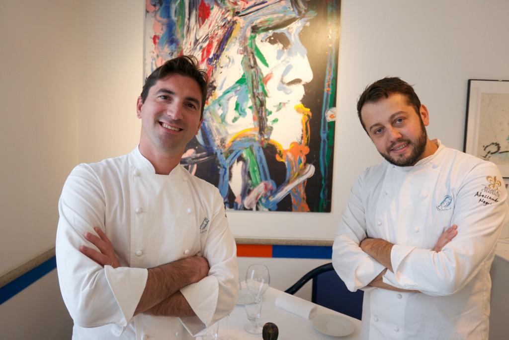 Fabio Pisani et Alessandro Negrini © GP
