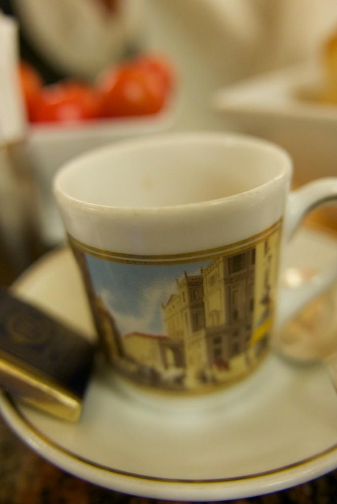 Un café © GP