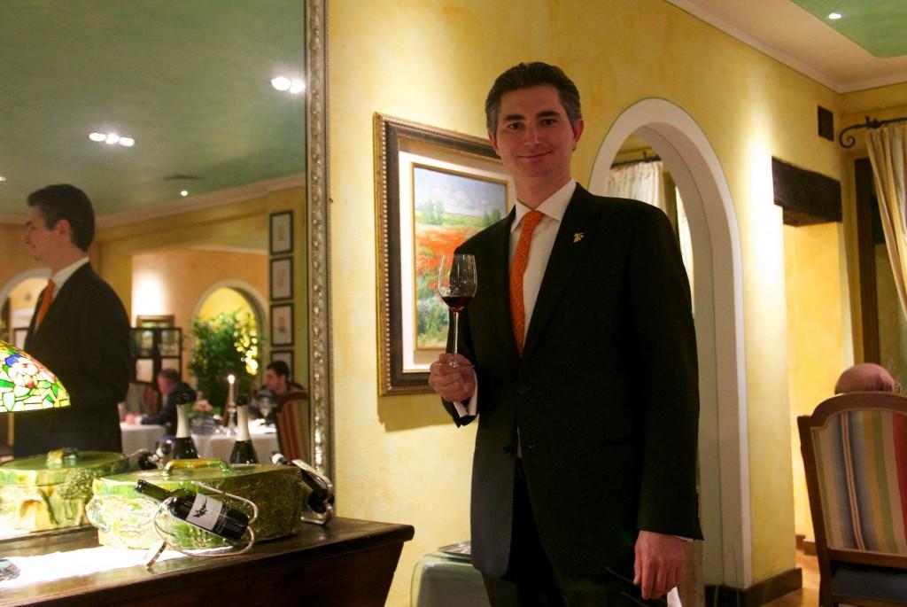 Alberto et les vins © GP