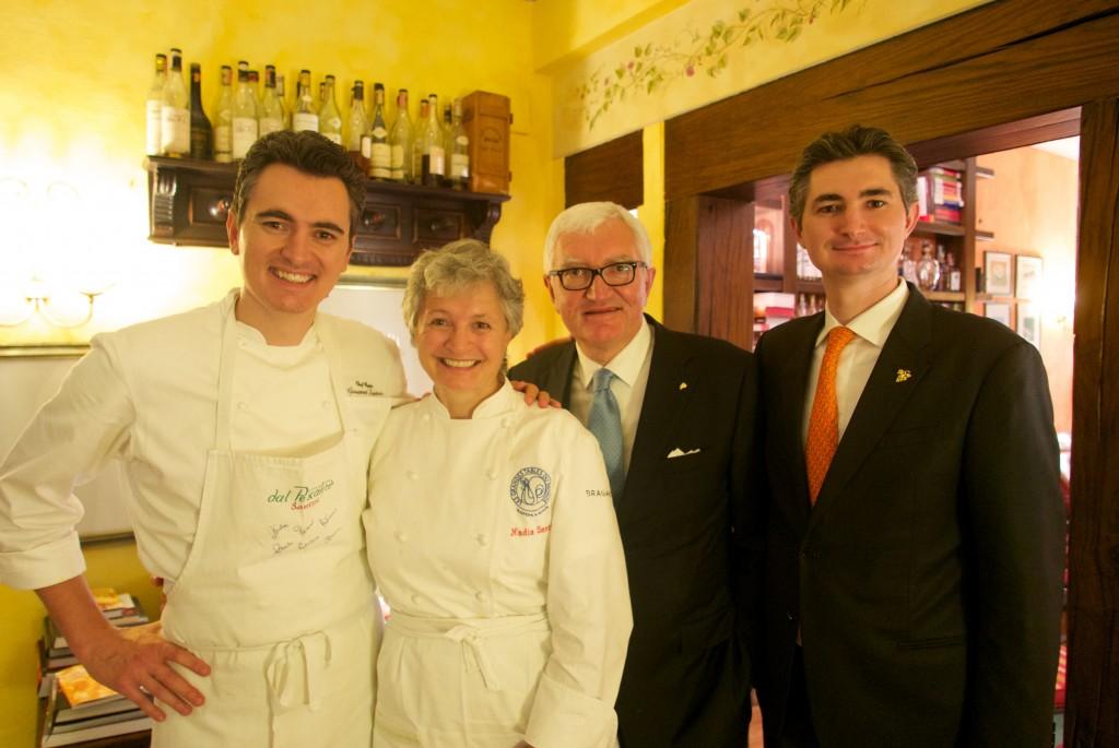 Giovanni, Nadia, Antonio, Alberto Santini ©GP