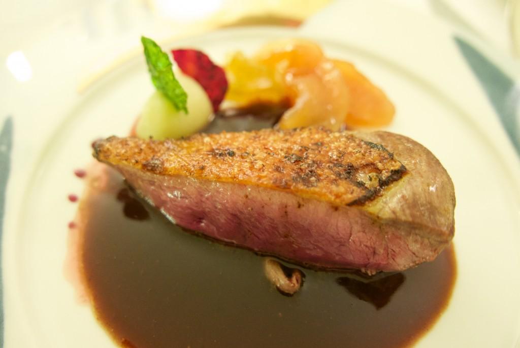 Magret de canard au vinaigre balsamique © GP