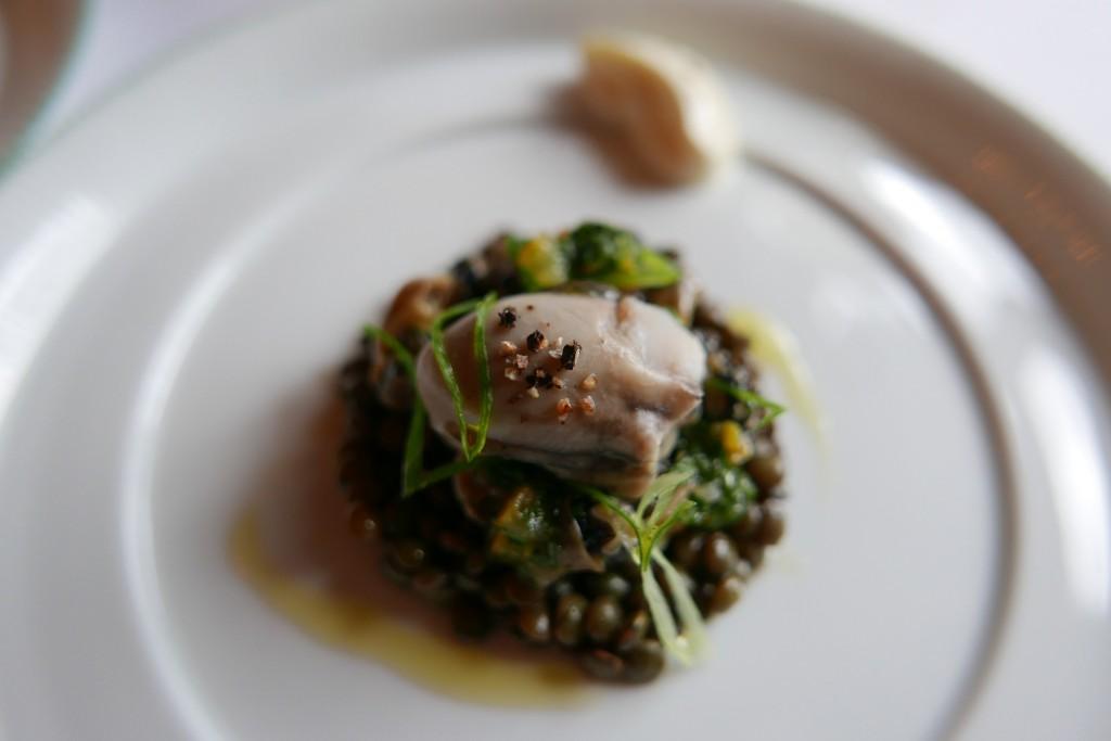 Lentilles et huîtres © GP