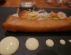 Croustillant de tête de veau légumes aigre doux © GP