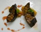Foie gras chaud et fruits du berawecka © GP