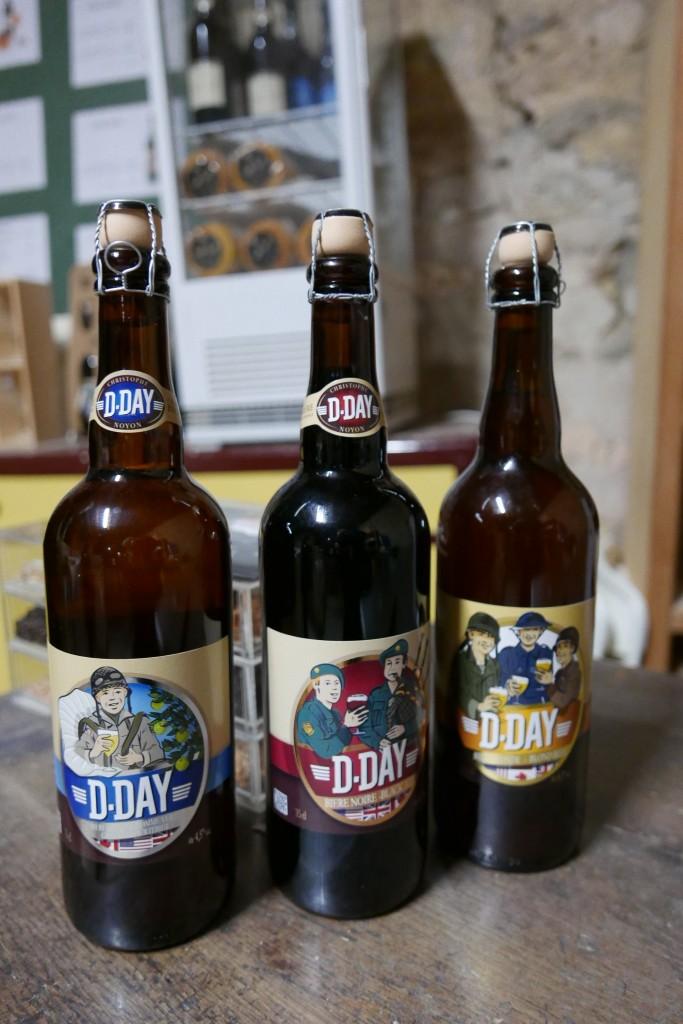 Les bières D-Day ©GP