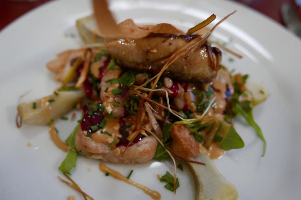 Salade de ris de veau © GP