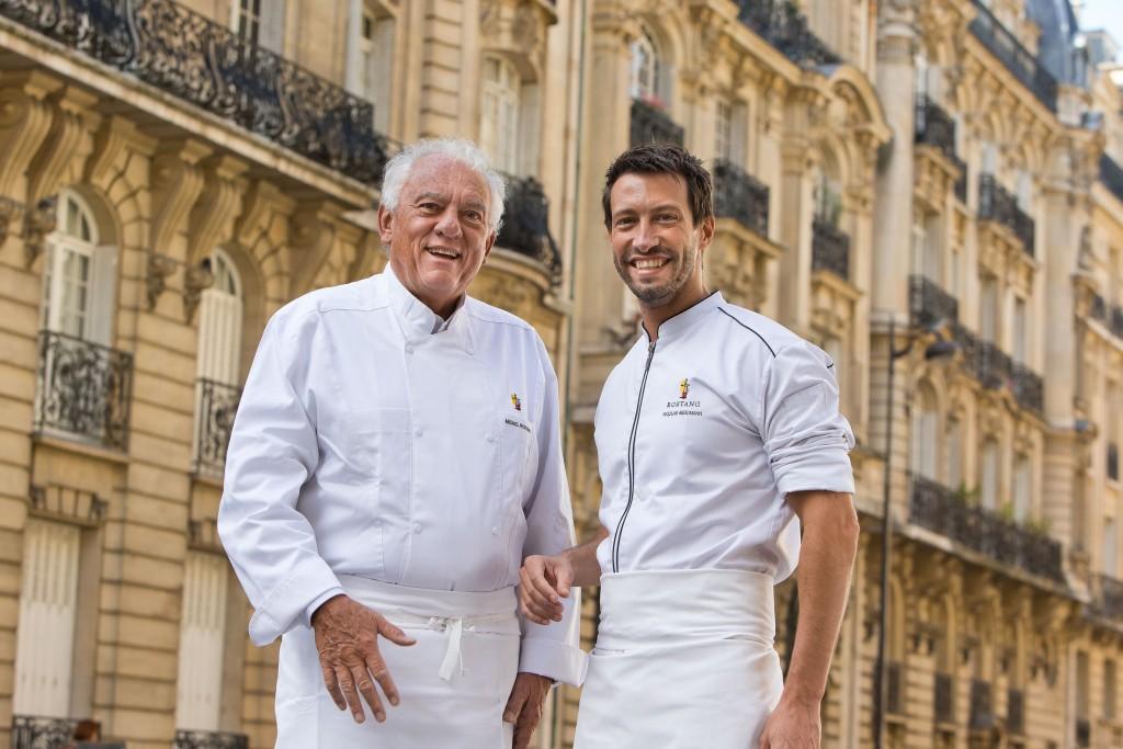 Michel Rostang et Nicolas Beaumann © DR
