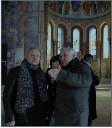 Joël Robuchon et Jean-Pierre Raffarin © DR