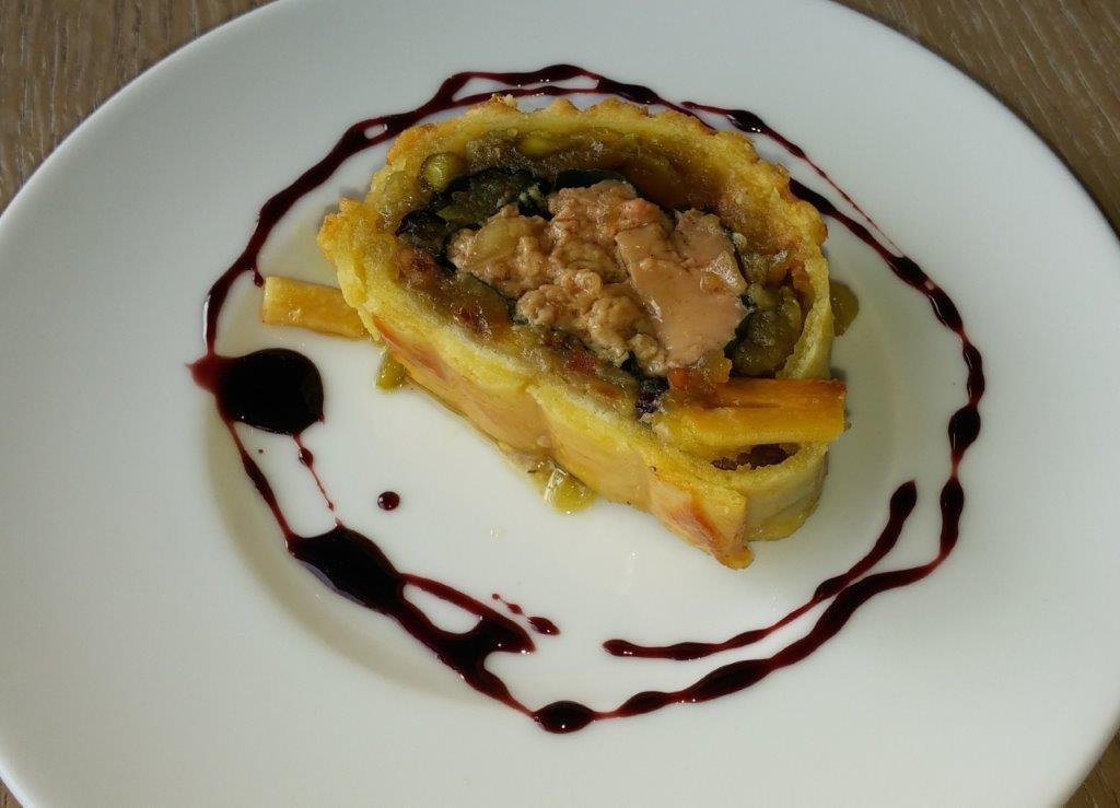 Barbajuan de foie gras © AA