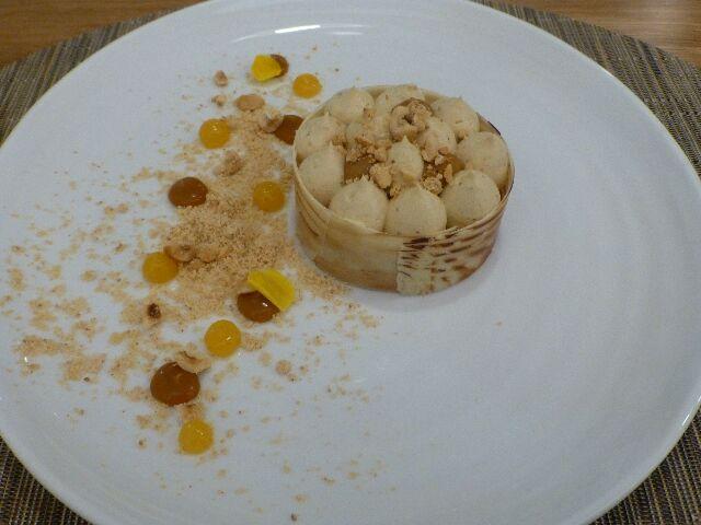 Biscuit noisette du Piémont crémeux praliné ©DC