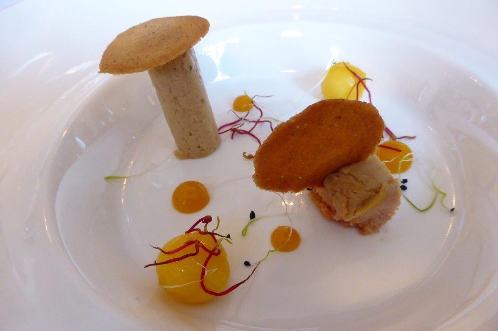 Declinaison de foie gras et mangue ©AA